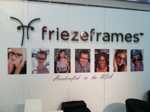 friezeframes booth Vision Expo West 2012 .1