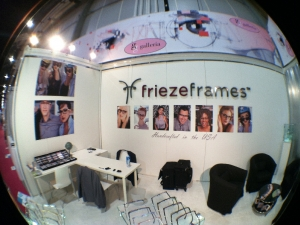 friezeframes booth Vision Expo West 2012.3